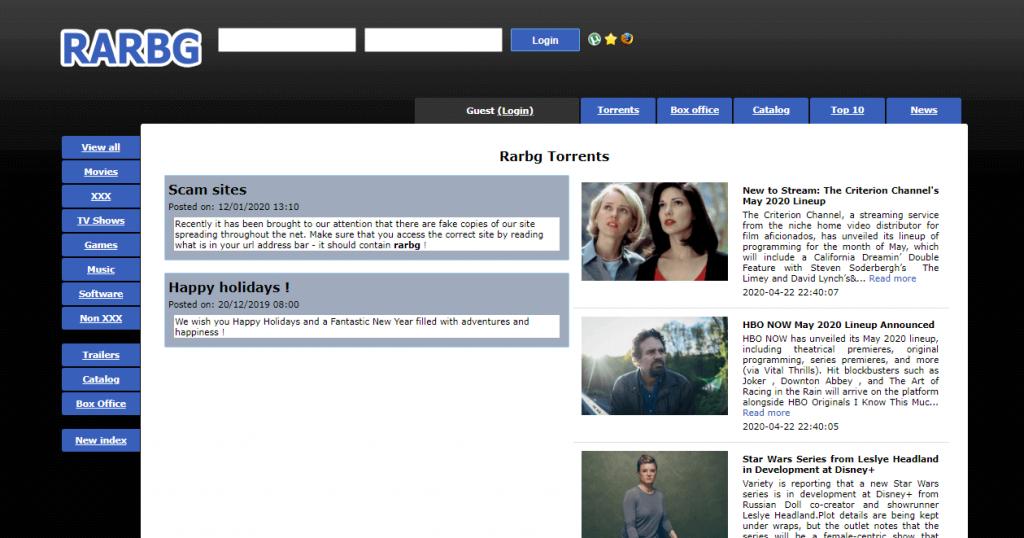 rarbg site like EZTV