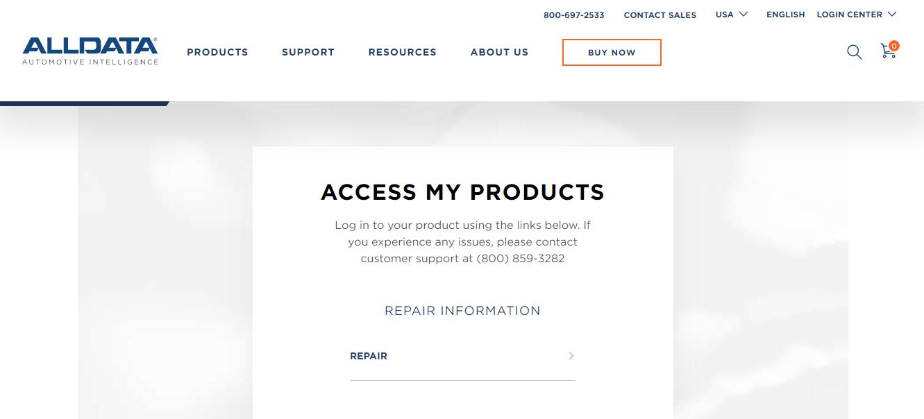 AllDataPro Complete Login Support