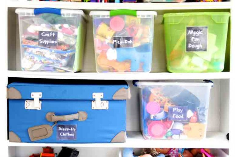 Toy Storage Ideas You Can Try in Any Room of Your Home